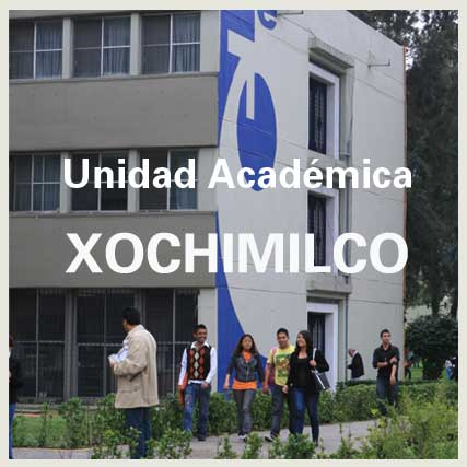 UAM. Universidad Autónoma Metropolitana. La Unidad Xochimilco.